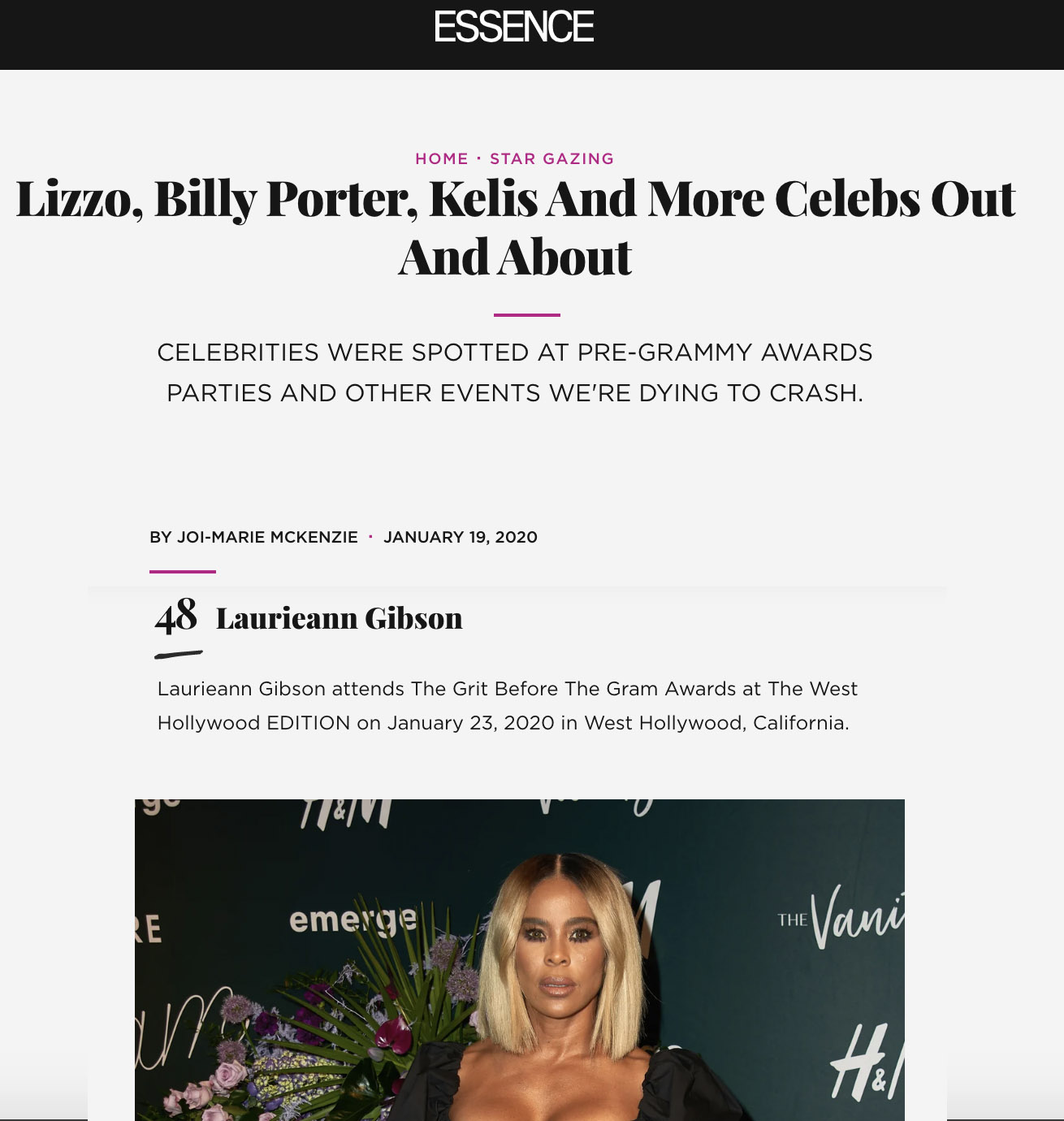 Lizzo, Billy Porter, Kelis And More Celebs Out And About