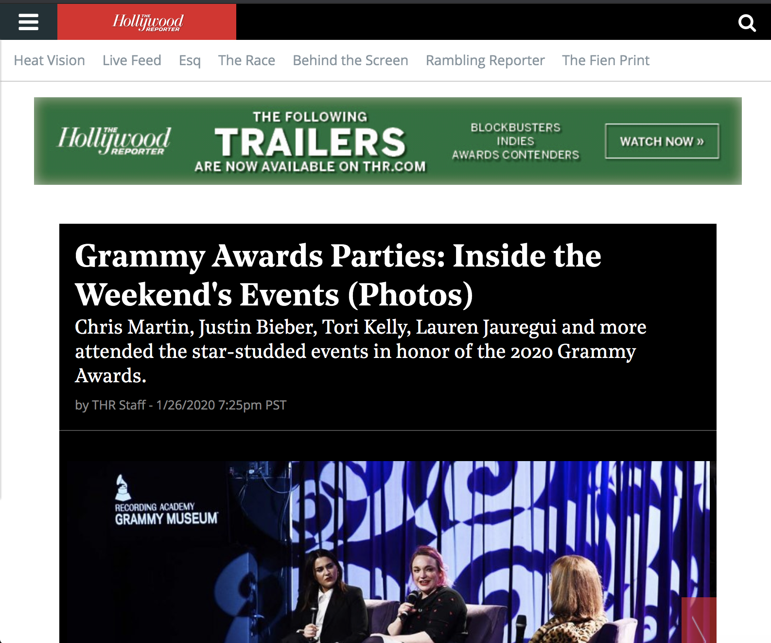 Grammy Awards Parties: Inside the Weekend's Events (Photos)